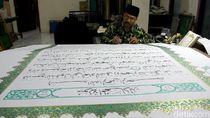 Melihat Alquran Raksasa dari Wonosobo untuk Presiden Jokowi