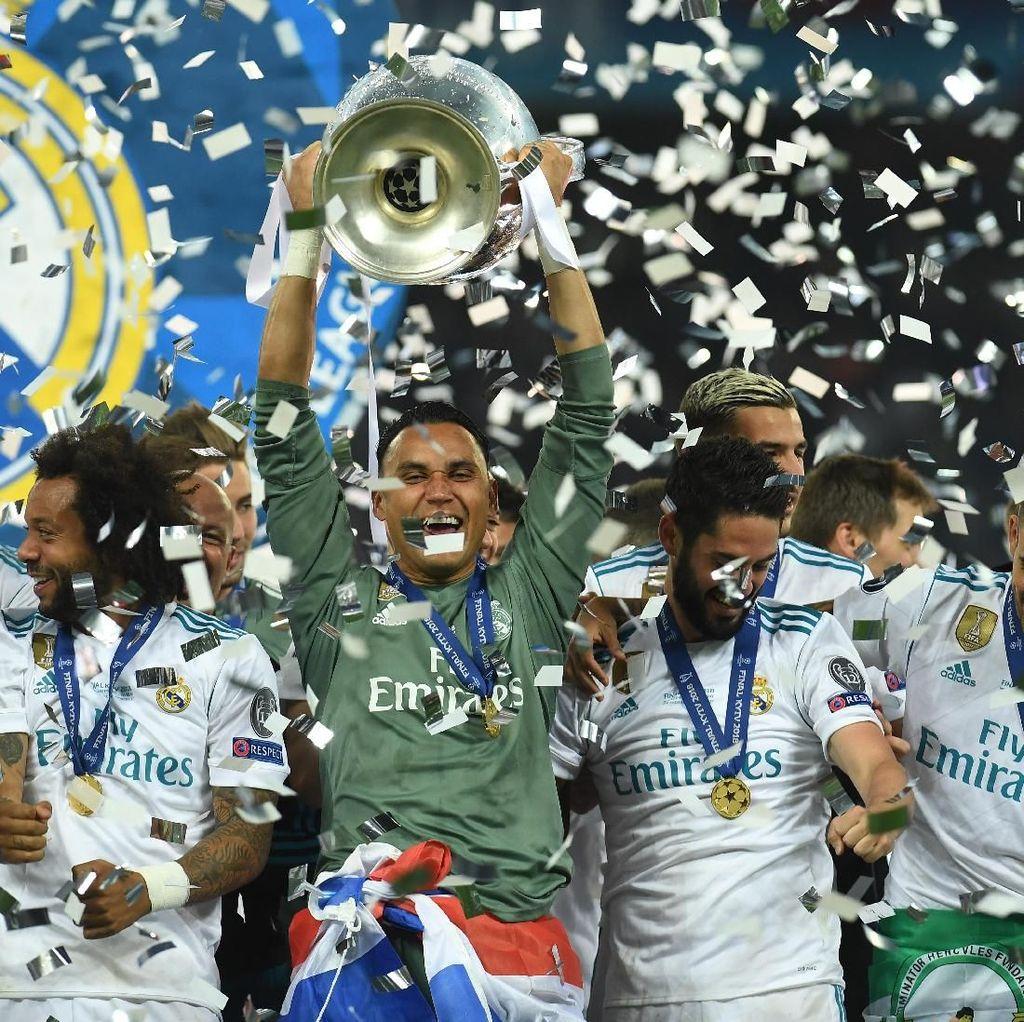 Trofi Liga Champions Penanda 100 Kemenangan Navas Bersama Madrid