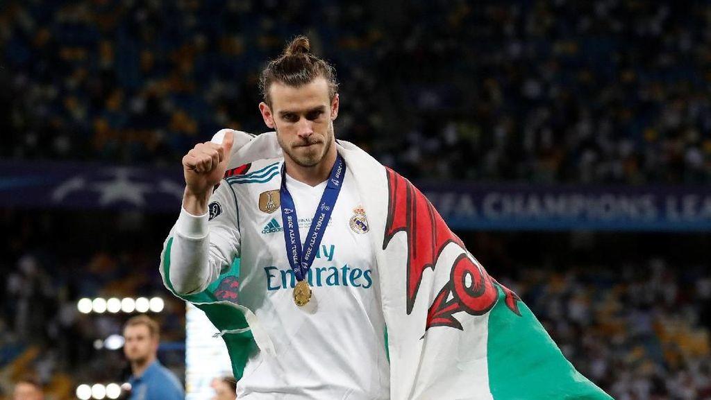 Gaya Makan Gareth Bale dan Dua Lipa yang Jadi Pusat Perhatian Liga Champions