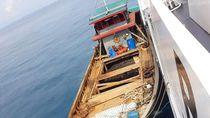Bakamla Tangkap Kapal Pengangkut 5 Ton Kabel Optik di Bintan