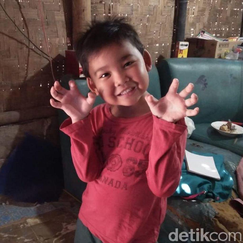 Saat Alif Bocah Viral di Tangerang Pamer Sudah Bisa Calistung