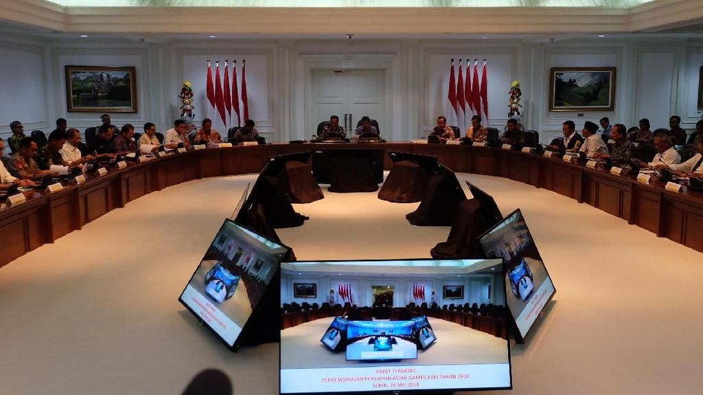 Jokowi: Kita Ingin Negara Peserta Asian Games Yakin Indonesia Aman