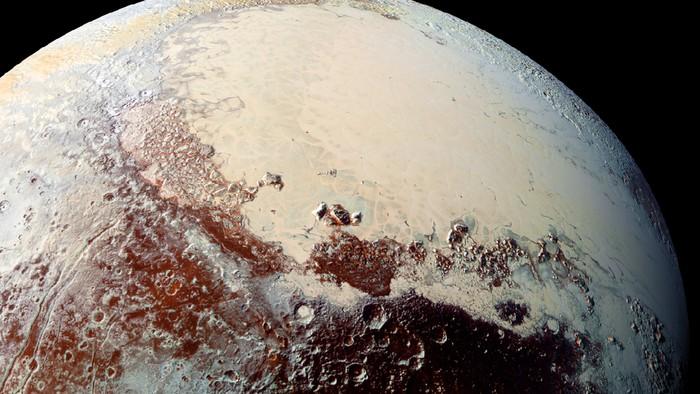 Planet Pluto. Foto: NASA