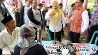 Dalam Festival Embung Ramadan di Embung Ranca Anis, Pandeglang juga dihadiri oleh Bupati Pandeglang Irna Narulita, Dirut Krakatau Steel Maswigriantoro Roes Setiyadi, serta Muspida Pandeglang. Istimewa/Jurnalis Mancing.