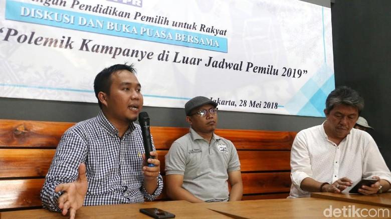 Diskusi Polemik Kampanye di Luar Jadwal Pemilu 2019