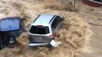Video Dahsyatnya Banjir di Maryland, AS