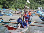 Pencarian 3 Nelayan di Pantai Garut Terkendala Cuaca Ekstrem