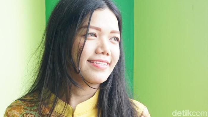dr Meilina Ayu Lestari yang selalu dirindukan warga. Foto: Frieda Isyana/detikHealth