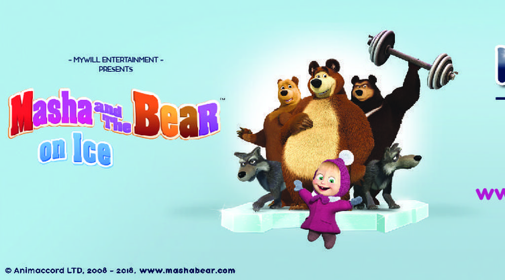 Masha and The Bear Bakal Berseluncur Ria di ICE BSD