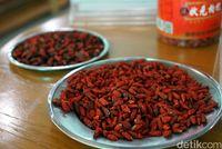 Goji berry kaya antioksidan.