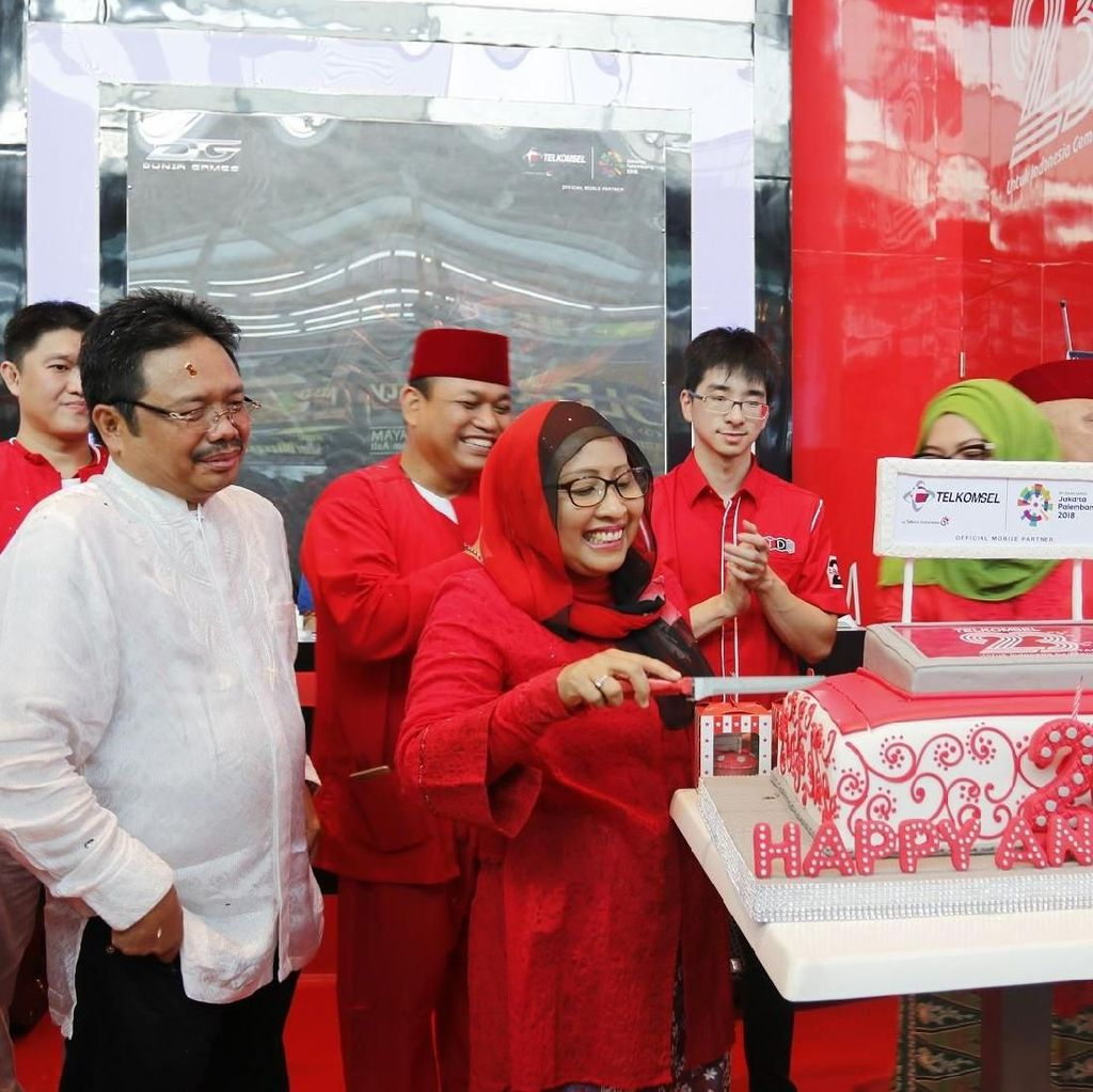 Telkomsel Hadirkan Nuansa Digital di Jakarta Fair Kemayoran