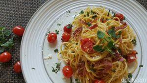 Spaghetti Sambal Matah dan Tuna Pedas yang Sedap untuk Berbuka Puasa