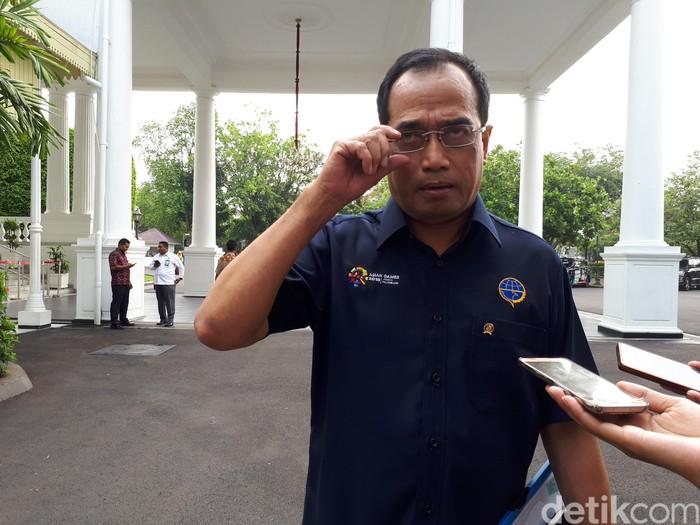 Menteri Perhubungan (Menhub) Budi Karya Sumadi (Foto: Andhika Prasetya/detikcom)
