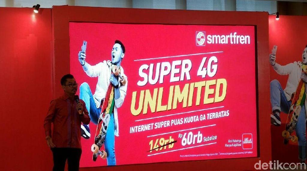 Registrasi Prabayar Bikin Pelanggan Smartfren Menurun