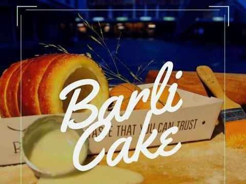 Roti cerobong Barli Cake