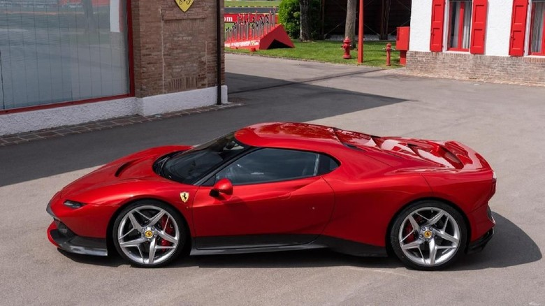 Ferrari SP38 Deborah, Cuma Satu di Dunia Foto: Pool (Autoevolution)