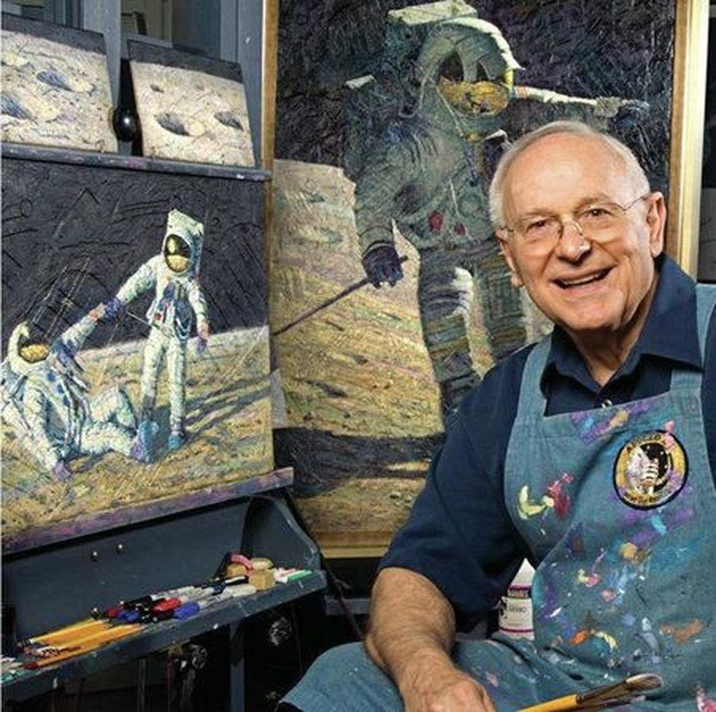 Astronot yang Sukses Menginjak Bulan Meninggal Dunia