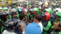Protes Insentif Murah, Driver Ojol Aksi Pawai Keliling Makassar