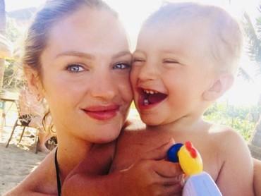 Sehat selalu Candice dan anak-anaknya. (Foto: Instagram/angelcandices)