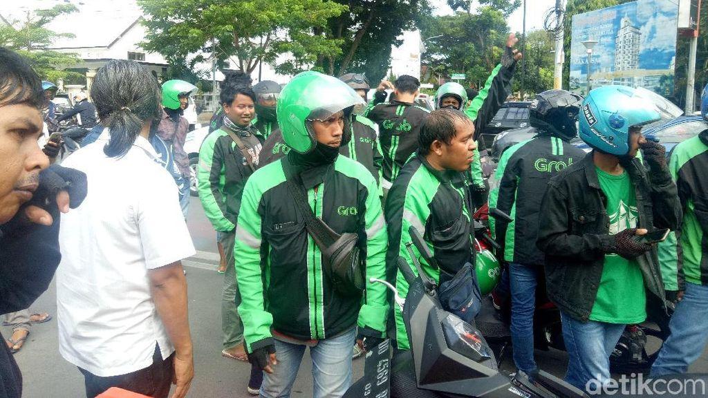 Mediasi Gagal, Driver Ojol Lanjut Demo Saat Asian Games