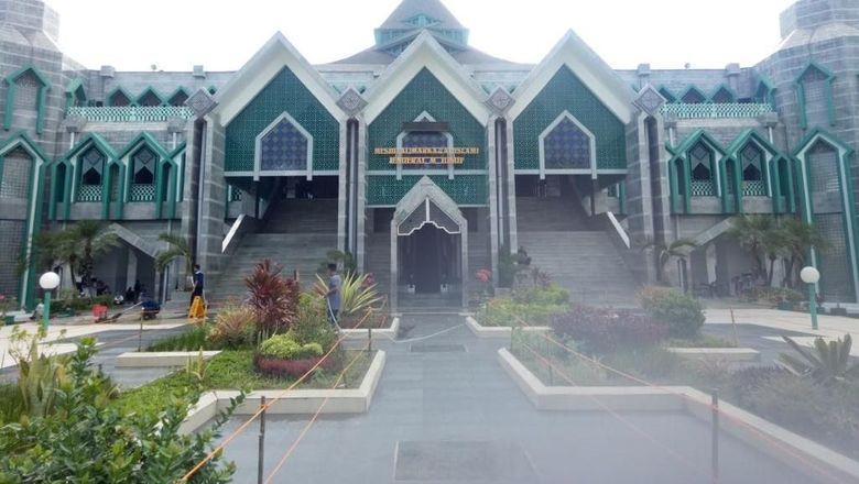 Masjid Al Markas Al Islami Jenderal M Yusuf (Ibnu Munsir/detikTravel)