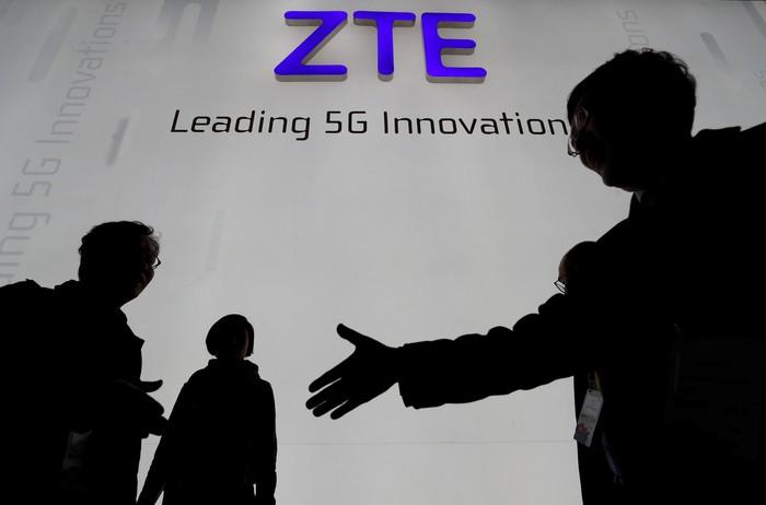 Logo ZTE. Foto: Reuters