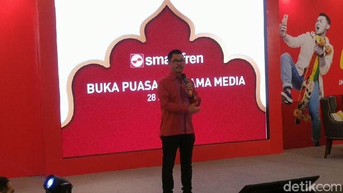 Deputy CEO Smartfren Djoko Tata Ibrahim. Foto: detikINET/Muhammad Alif Goenawan