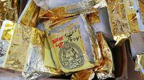 Penampakan 1,2 Ton Sabu dari Myanmar yang Disita Malaysia