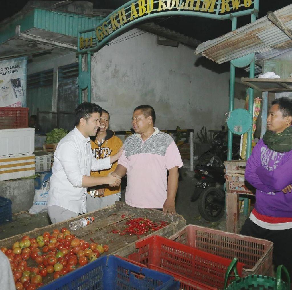 Mampir Pasar Baru Pandaan, Emil Dardak Tinjau Harga Pasar
