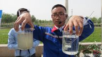 China Juga Olah Air Limbah di Gurun Pasir Jalur Sutra