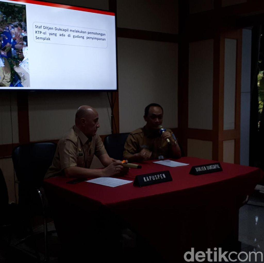 Alasan Kemendagri Tak Musnahkan e-KTP yang Tercecer di Bogor