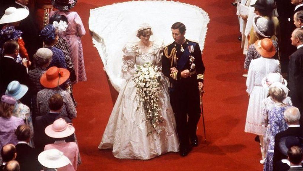 29 Juli 1981, Pernikahan Megah Pangeran Charles dan Lady Diana
