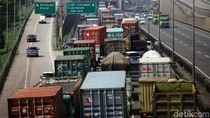 Bulan depan, Pemprov DKI Jakarta Batasi Operasional Truk di Tol Lingkar Luar