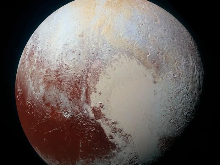Potret Pluto, Mantan Planet yang Kini Cuma Komet