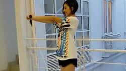 Lolita Agustine terkenal sebagai presenter bergaya sporty dengan fisik ramping ideal. Kalau mau seperti Lolita maka harus contek gaya hidup sehatnya.