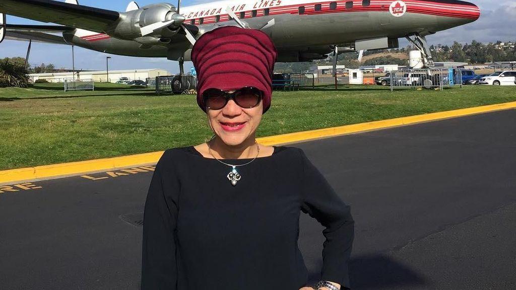 Tinggal di New York, Dorce Gamalama Mau Habiskan Hari Tua di Mekkah