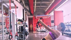 Andrea Dian terkenal sebagai salah satu sosok artis cantik yang gemar berolahraga. Dampak dari kebiasaan baik tersebut adalah tubuh yang ramping ideal.