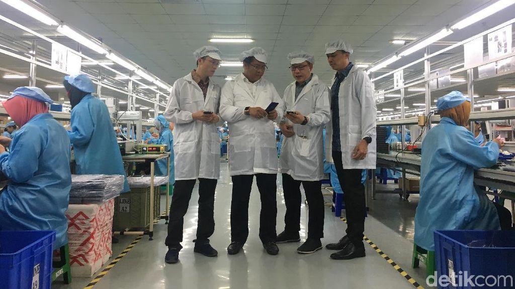 Advan Pamer Pabrik Ponsel Made in Semarang