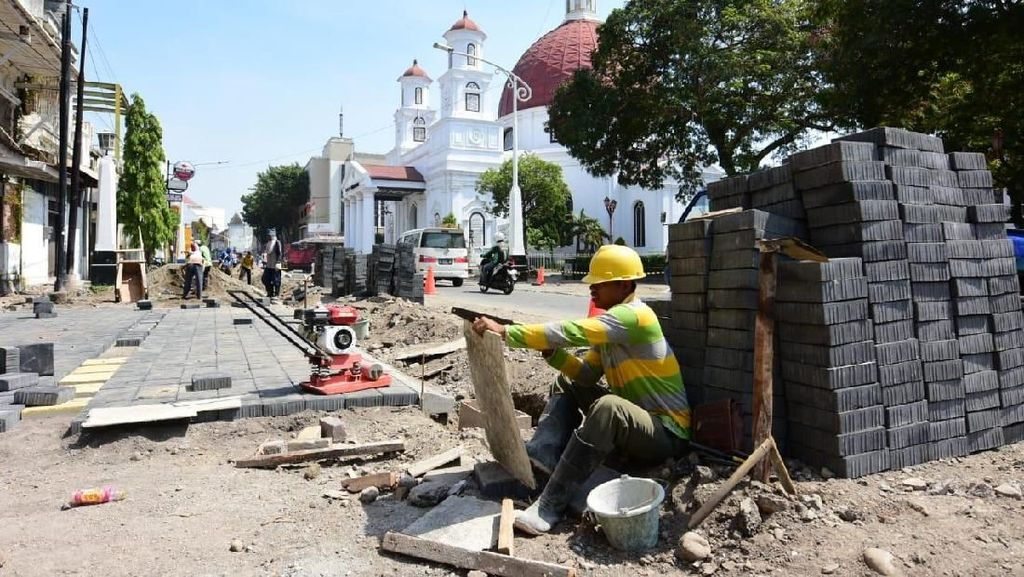 Renovasi Kota Lama Semarang, Kementerian PUPR Rogoh Rp 156 M