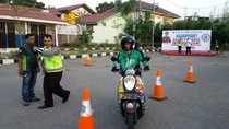 Saat Driver Ojek Online Diajak Ngabuburit Safety Riding