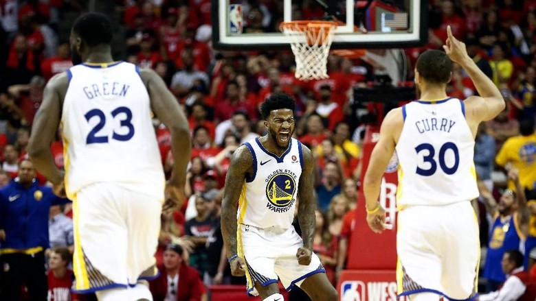 Kalahkan Rockets, Warriors Kembali Jumpa Cavs di Final NBA