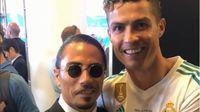 Tonton Liga Champions 2018, 'Salt Bae' Berfoto dengan Ronaldo hingga Salah