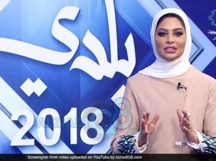 Presenter berita diskors karena puji rekan kerjanya. Foto: Dok. Kuwait TV