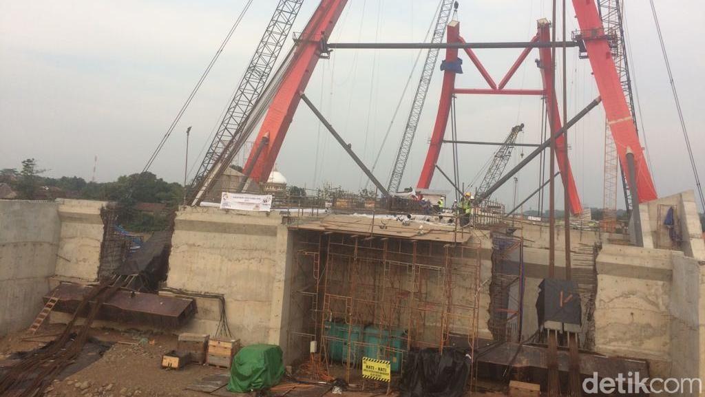Mau Dipakai Mudik, Proyek Jembatan Kalikuto Digeber 24 Jam