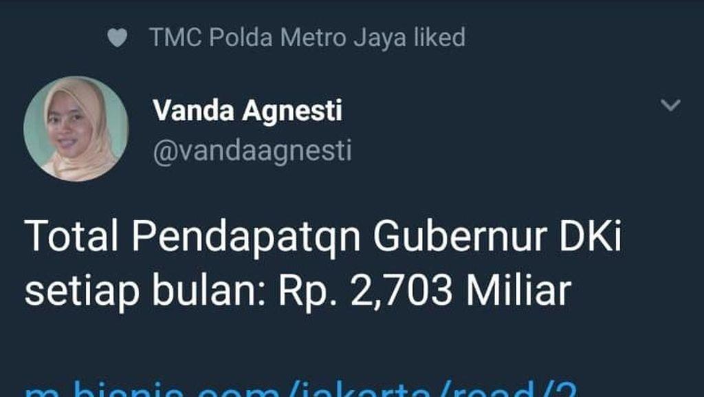 Twitter TMC PMJ Dibully karena Nge-like Cuitan Ini, Apa Kata Dirlantas?