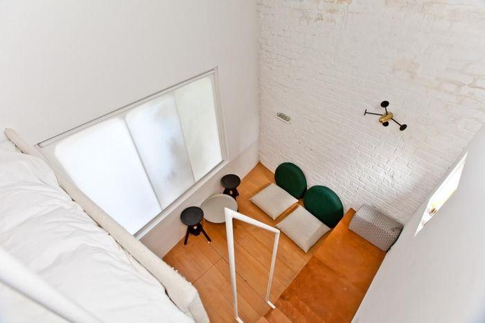 Desain Interior Rumah Panggung Minimalis  duh rumahnya super mungil tapi harganya mahal banget