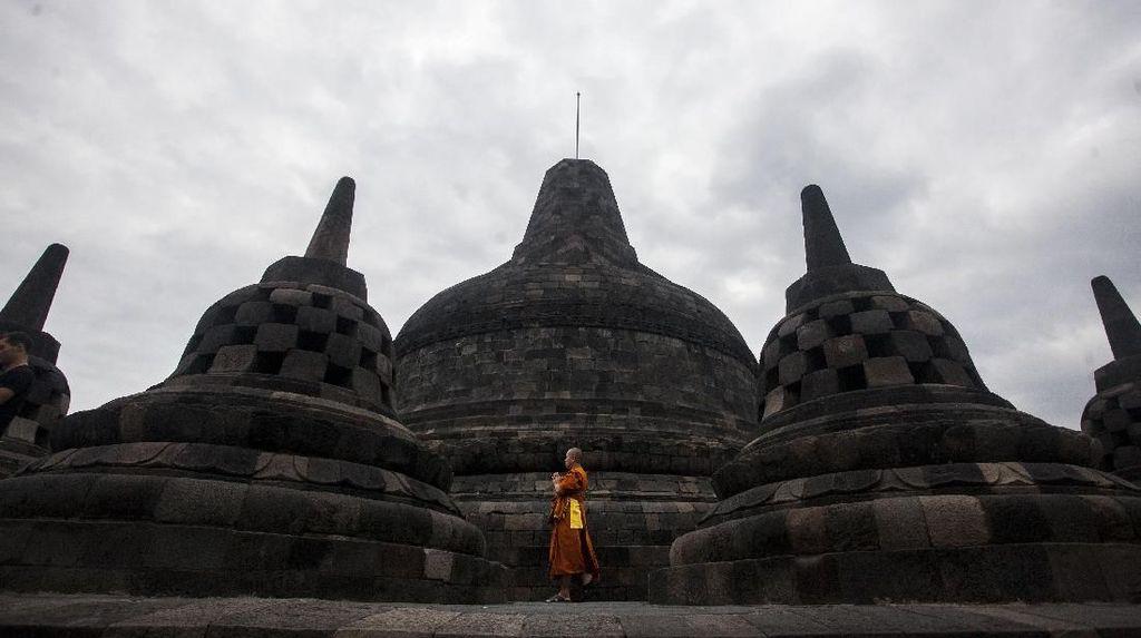 Viral, Crazy Rich Surabayan Pernah Cetak Rekor MURI Pernikahan di Borobudur