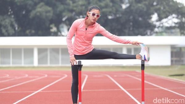 Emilia Nova Cuti Dari Sapta Lomba, Fokus 100 M Gawang Untuk Asian Games