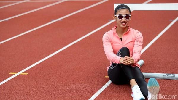 Dari Ajang 17-an, Emilia Nova Kini Jagoan 100 Meter Lari Gawang