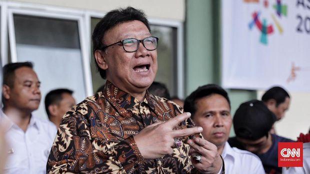 Mendagri Tjahjo Laporkan Gratifikasi Keris Majapahit ke KPK